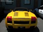 98octane Photos Exotic Spotting in Melbourne: Lamborghini Gallardo Spider - rear (Port Melbourne, Vic, 23 Jan 08)