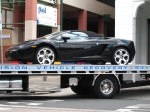 Melbourne   Exotic Spotting in Melbourne: Lamborghini Gallardo Spdyer