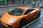 Left   Exotic Spotting in Melbourne: Lamborghini Gallardo Superleggera - front left (Melbourne, Vic, 5 Mar 09)