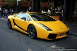 Lamborghini   Exotic Spotting in Melbourne: Lamborghini Gallardo Superleggera - front right 2 (South Yarra, Vic, 8 June 08)