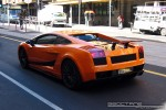 Australia   Exotic Spotting in Melbourne: Lamborghini Gallardo Superleggera - rear left (Melbourne, Victoria, Australia)