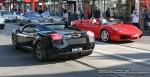 Exotic Spotting in Melbourne: Lamborghini Gallardo and Ferrari F430 (South Yarra, Vic)