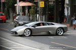Exotic Spotting in Melbourne: Lamborghini Murcielago - front left (South Yarra, Vic, 7 Mar 09)