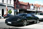 Lamborghini   Exotic Spotting in Melbourne: Lamborghini Murcielago - front left 3 (Prahran, Vic, 19 Dec 09)a