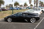 Left   Exotic Spotting in Melbourne: Lamborghini Murcielago - profile left 2 (Port Melbourne, Vic, 20 Sept 08)