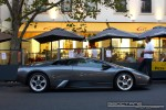Car   Exotic Spotting in Melbourne: Lamborghini Murcielago - profile right (Carlton, Vic, 29 Mar 09)
