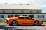 Lamborghini   Exotic Spotting in Melbourne: Lamborghini Murcielago - profile right (Moorabbin Airport, Vic, 19 Sept 09)