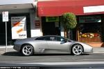 Right   Exotic Spotting in Melbourne: Lamborghini Murcielago - profile right 1a (Toorak, Vic, 9 Aug 08)