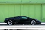Right   Exotic Spotting in Melbourne: Lamborghini Murcielago - profile right 3 (Prahran, Vic, 19 Dec 09)