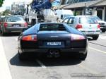 23   Exotic Spotting in Melbourne: Lamborghini Murcielago - rear (Toorak, 23 Jan 08)