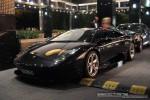Left   Exotic Spotting in Melbourne: Lamborghini Murcielago LP640 - front left 2a (Crown Casino, Victoria, 27 Mar 09)