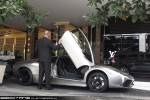 Right   Exotic Spotting in Melbourne: Lamborghini Murcielago LP640 - profile right 2 (Crown, Vic, 26 Mar 09)