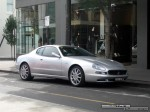 Right   Exotic Spotting in Melbourne: Maserati Coupe - front right (South Yarra, Vic, 15 March 08)