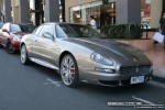 Gran   Exotic Spotting in Melbourne: Maserati GranSport - front right (South Yarra, Vic, 22 March 08)