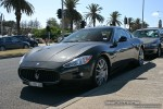 TI   Exotic Spotting in Melbourne: Maserati GranTurismo - front left 2 (St Kilda, Vic, 16 Nov 08)