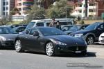 Gran   Exotic Spotting in Melbourne: Maserati GranTurismo - front right (St Kilda, Vic, 16 Nov 08)