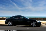 Australia   Exotic Spotting in Melbourne: Maserati GranTurismo - profile right 2 (Middle Park, Vic, 15 Nov 09)