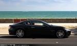Gran   Exotic Spotting in Melbourne: Maserati Gran Turismo - profile right (Middle Park, Vic, 15 Nov 09)