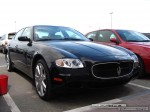 Right   Exotics in Dubai: Maserati Quattroporte - A front right (navy)