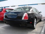 Exotics in Dubai: Maserati Quattroporte - A rear right (navy)