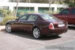 Exotics in Dubai: Maserati Quattroporte - C rear left (maroon)