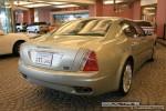 Maserati   Exotics in Dubai: Maserati Quattroporte - D rear right (silver)
