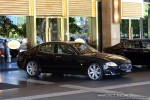 Maserati   Exotic Spotting in Melbourne: Maserati Quattroporte - front right 1 (Crown Casino, Vic, 29 Mar 09)