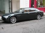 Maserati   Exotic Spotting in Europe: Maserati Quattroporte - left side (Sloane Street, London, 12 April 2006)