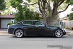 TI   Exotic Spotting in Melbourne: Maserati Quattroporte - profile right (Glen Waverley, Vic, 7 Mar 09)