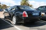 Melbourne   Exotic Spotting in Melbourne: Maserati Quattroporte - rear left (Port Melbourne, Vic, 6 April 08)