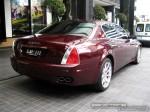 Right   Exotic Spotting in Melbourne: Maserati Quattroporte - rear right (Crown Casino, Vic, 29 Feb 08)