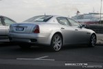Right   Exotic Spotting in Melbourne: Maserati Quattroporte - rear right (Port Melbourne, Vic, 16 March 08)