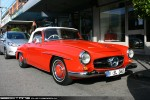 Mercedes   Exotic Spotting in Melbourne: Mercedes Benz 190 SL - front right 1 (Toorak, Vic, 9 Aug 08)