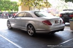 Benz   Exotic Spotting in Melbourne: Mercedes Benz CL63 AMG - rear left (Crown Casina, Vic, 29 Oct 08)