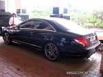 Mercedes   Exotics in Dubai: Mercedes Benz CL65 AMG - rear left