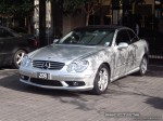Mercedes   Exotic Spotting in Melbourne: Mercedes Benz CLK55 AMG - front left (Crown Casino, Vic, 7 Aug 08)