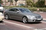 MERCEDES   Exotics in Dubai: Mercedes Benz CLS63 AMG - front right