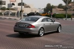 Benz   Exotics in Dubai: Mercedes Benz CLS63 AMG - rear right