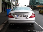 Benz   Exotic Spotting in Melbourne: Mercedes Benz CLS 63 AMG - rear (Southbank, Vic, 19 July 08)