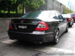 Mercedes   Exotic Spotting in Melbourne: Mercedes Benz E63 AMG - rear right 1 (Crown Casino, Vic, 29 Feb 08)