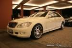 Mercedes   Exotics in Dubai: Mercedes Benz S500 [Fab Design] - front left