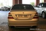 Exotics in Dubai: Mercedes Benz S65 AMG [mod] - rear