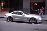 Mercedes   Exotic Spotting in Melbourne: Mercedes Benz SL500 - profile right (Melbourne, Vic, 7 Aug 08)
