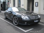 Mercedes   Exotic Spotting in Melbourne: Mercedes Benz SL55 AMG - front right (Richmond, Vic, 15 March 08)