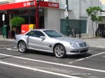 BENZ   Exotic Spotting in Melbourne: Mercedes Benz SL55 AMG - front right (Toorak, Vic, 15 March 08)