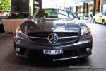 BENZ   Exotic Spotting in Melbourne: Mercedes Benz SL63 AMG [2009] - front (Crown Casino, Vic, 29 Sept 08)
