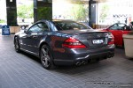 Amg   Exotic Spotting in Melbourne: Mercedes Benz SL63 AMG [2009] - rear left (Crown Casino, Vic, 29 Sept 08)