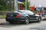 Right   Exotics on Victoria's Surf Coast: Mercedes Benz SL63 AMG - rear right 2 (Lorne, Vic, Jun 09)