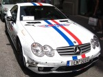 Sl65   Exotic Spotting in Europe: Mercedes Benz SL65 AMG - front - Dustball 4000 Rally (Florence, Italy, 17-Jun-06)