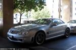 Feb   Exotic Spotting in Melbourne: Mercedes Benz SL65 AMG - front left 2 (Crown, Vic, 28 Feb 2010)